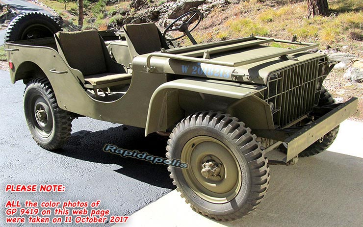 Military Jeep For Sale >> 1941 Ford Gp Ww2 Jeep For Sale