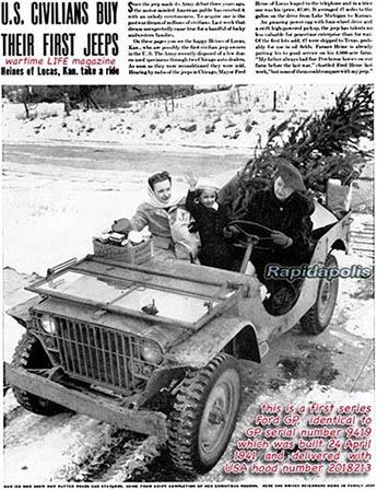 WW2 jeeps postwar civilian use
