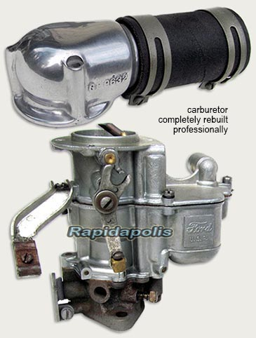 1941 Ford GP jeep carburetor
